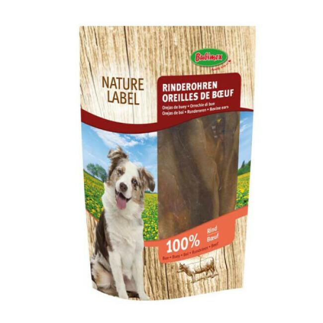 Oreilles de bœuf pour chien