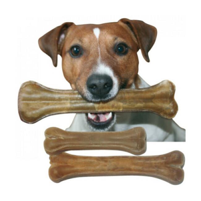 Os de peau pressé pour chien Bubimex