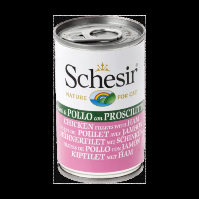 Pâtée en gelée pour chat Schesir - Boîte 140 g