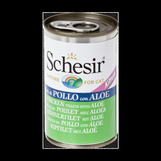 Pâtée pour chaton en gelée Schesir - Boîte de 140 g