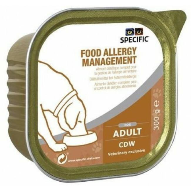 Pâtée pour chien CDW Hypoallergénique Management Specific 6 barquettes de 300 g