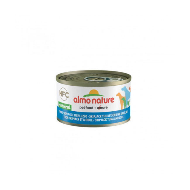 Pâtée pour chien HFC Natural Almo Nature - Lot de 6 boîtes de 95 g