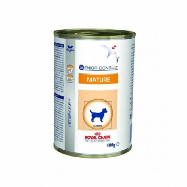 Pâtée pour chien senior race moyenne Veterinary Care Consult Royal Canin - Lot de 12 boîtes de 400 g