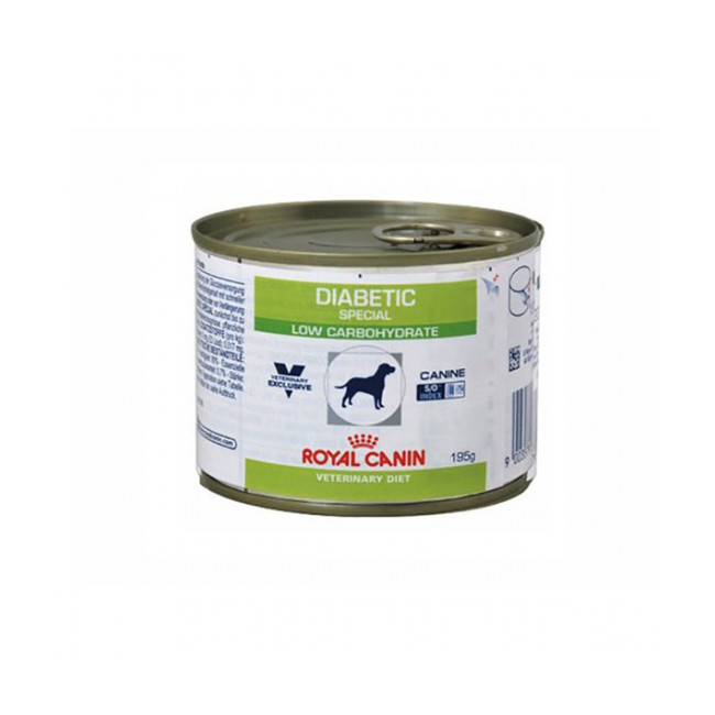 Pâtée Veterinary Diet Dabetic Special pour chien diabétique Royal Canin