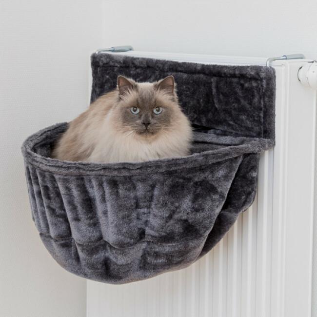 Panier douillet XXL pour chat adaptable radiateur