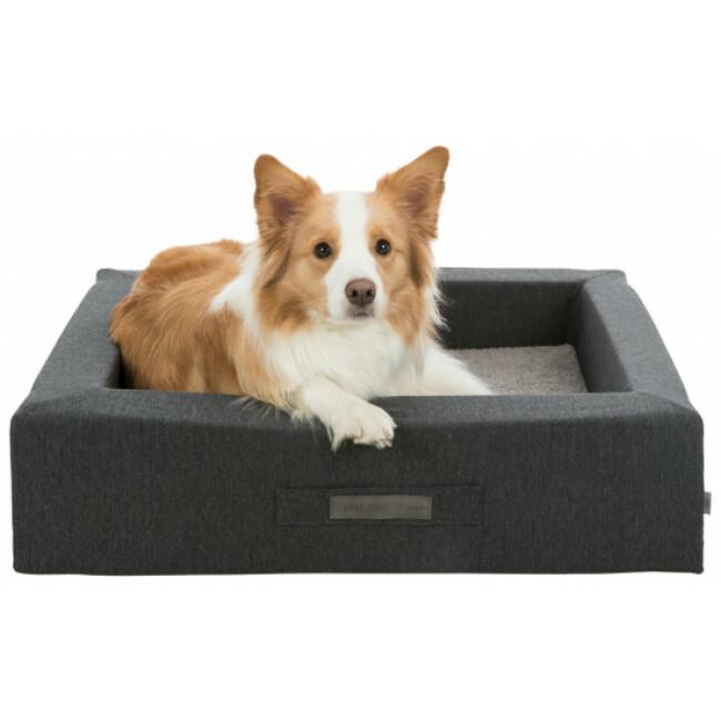 Panier rectangulaire pour chien à mémoire de forme Bendson Trixie