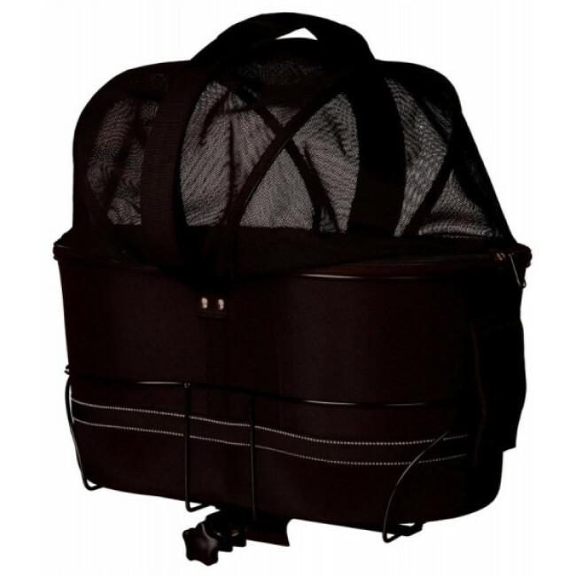 Panier vélo transport chien porte-bagages larges