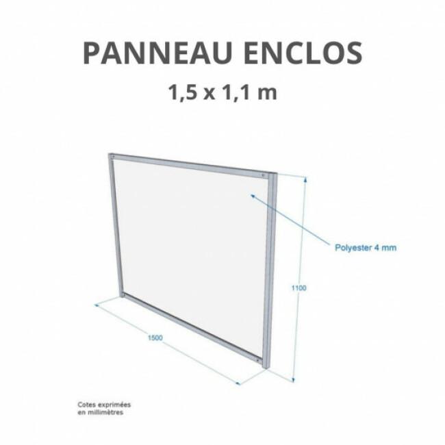 Panneau d'enclos pour chiot en polyester