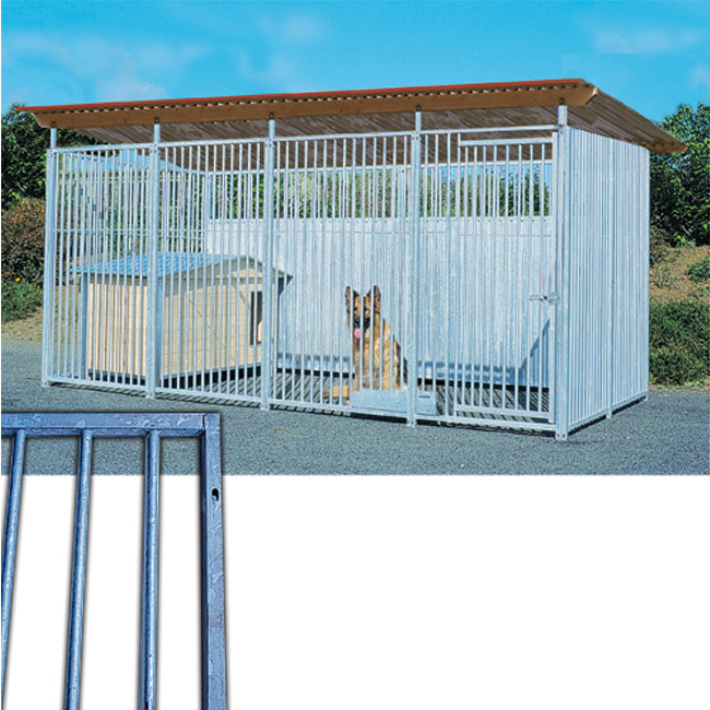Panneau éco Barreau pour construction de chenil en kit pour chien