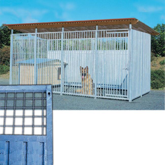 Panneau Pro tôle mixte en kit pour construire chenil chien et chat