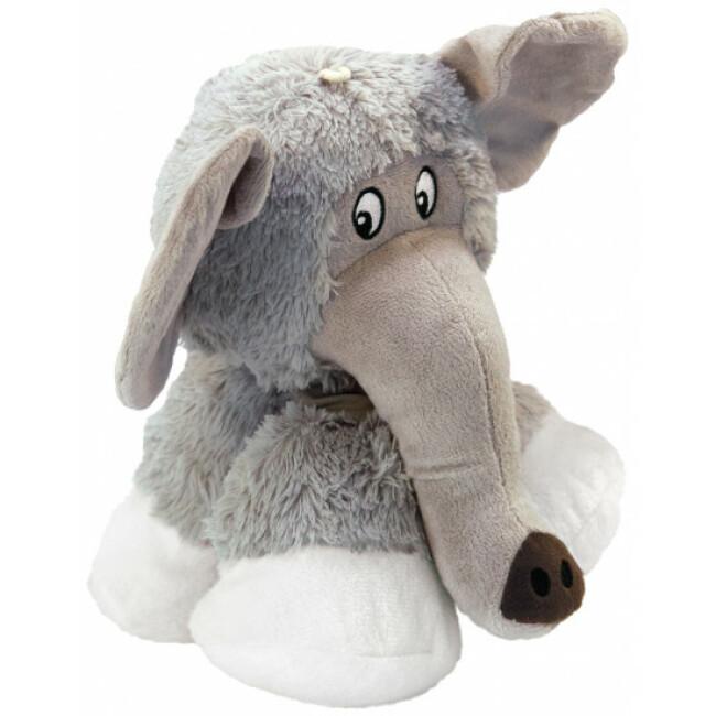 Peluche éléphant à couinement pour chien KONG Stretchezz Legz