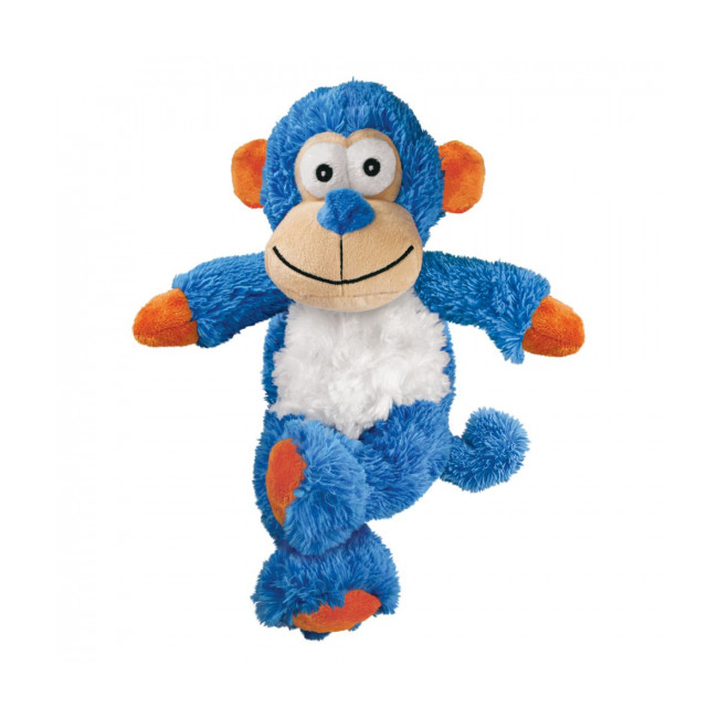 Peluche singe à couinement avec corde pour chien KONG Cross Knots