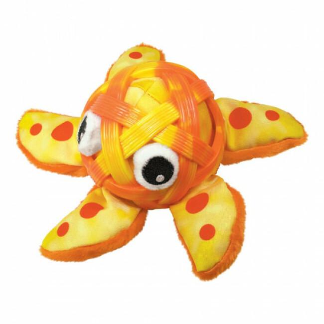 Peluche étoile de mer à mastiquer pour chien KONG Sea Schells