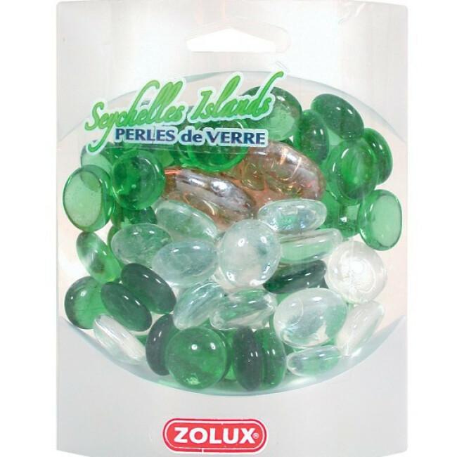 Perles de verre Seychelles Island Zolux pour aquarium