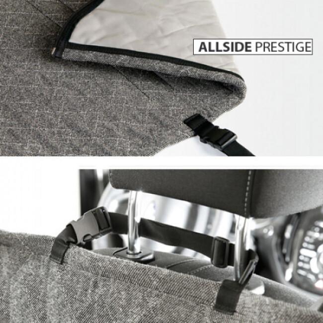 Plaid protection de siège automobile Allside-Prestige pour le transport de chien