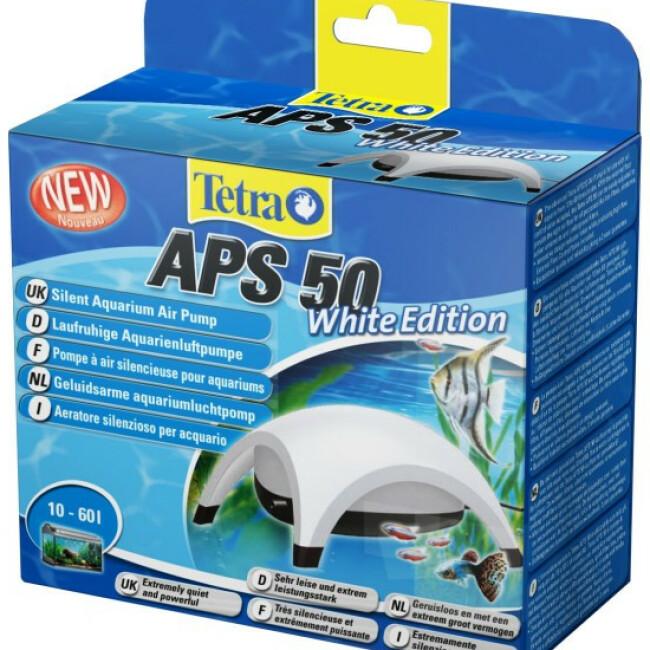 Pompe à air Tetra APS blanche pour aquarium
