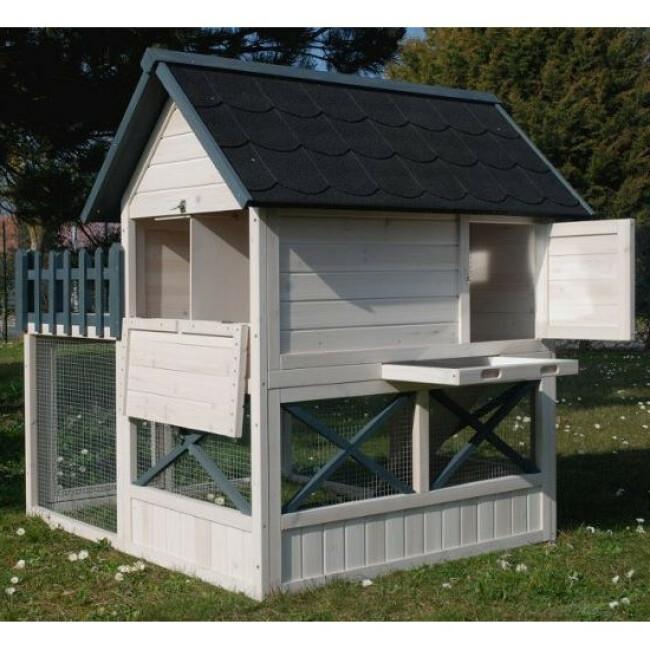 Poulailler Oregon avec terrasse
