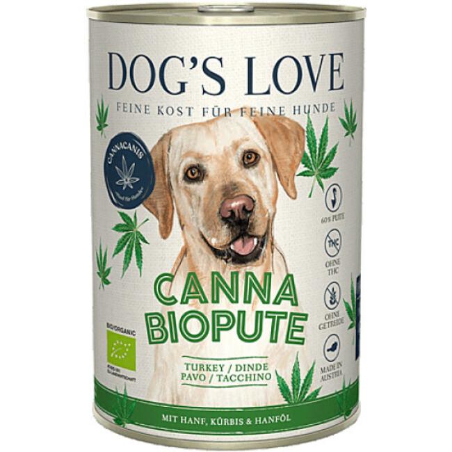 Pâtée Canna Canis BIO avec chanvre