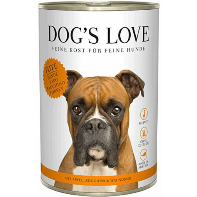 Pâtée Dog's Love à la Dinde pour chien