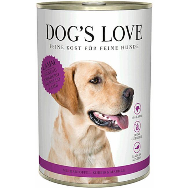 Pâtée Dog's Love à l'Agneau pour chien