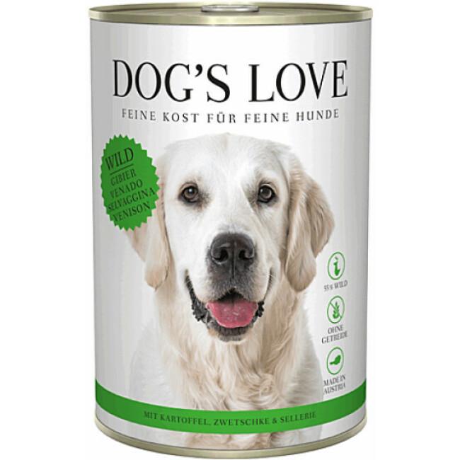 Pâtée Dog's Love au Gibier pour chien