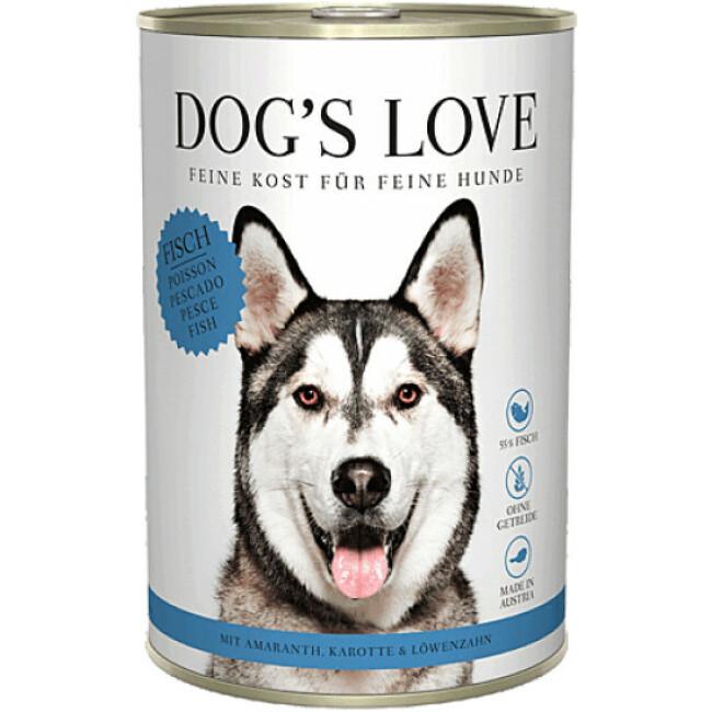 Pâtée Dog's Love au Poisson pour chien