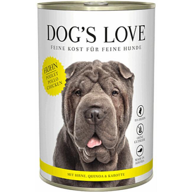 Pâtée Dog's Love au Poulet pour chien
