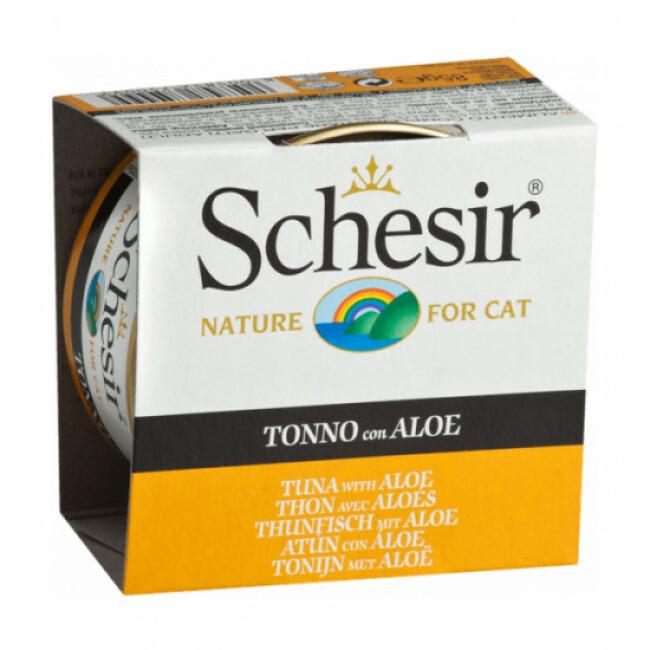 Pâtée en gelée pour chat Schesir - Boîte 85 g