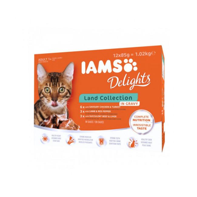 Pâtée en sauce IAMS pour chat