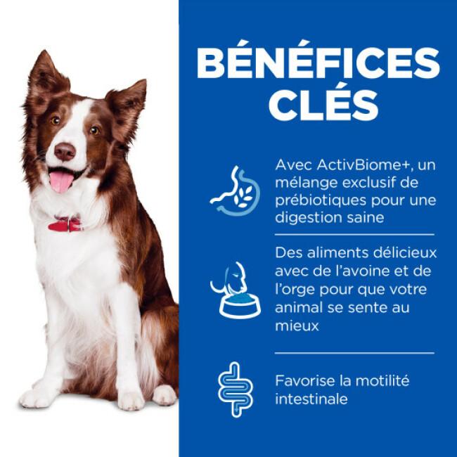 Pâtée Hill's Science Plan Perfect Digestion pour chien adulte