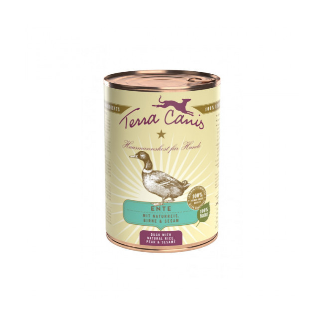 Pâtée naturelle Classic Canard Terra Canis pour chien
