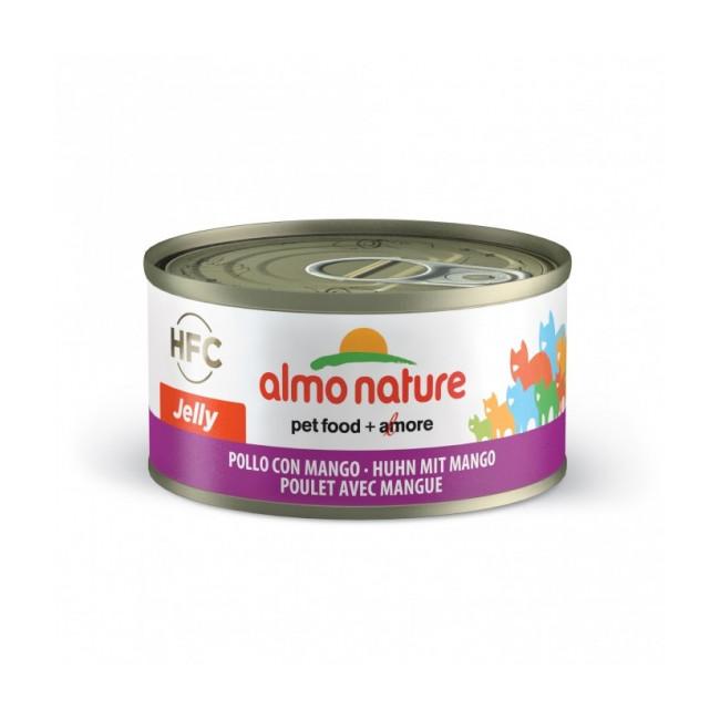 Pâtée pour chat Almo Nature HFC Jelly - Lot de 6 x 70 g