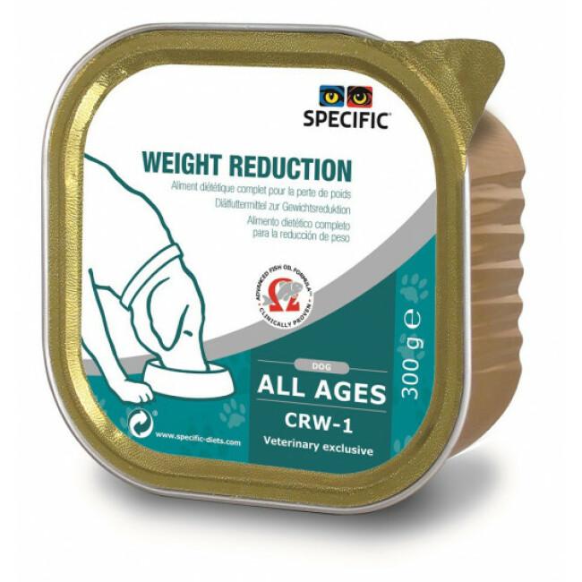 Pâtée pour chien CRW-1 Weight Reduction Specific 6 boîtes de 300 g