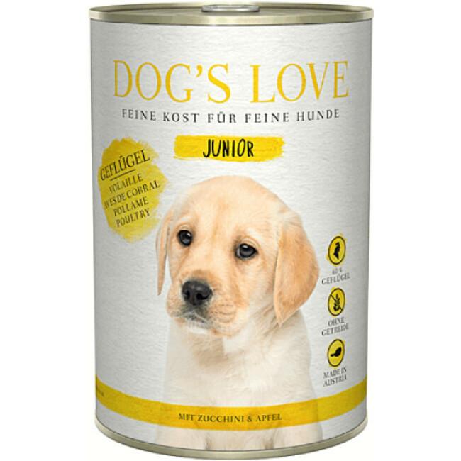 Pâtée pour chiot et junior Dog's Love