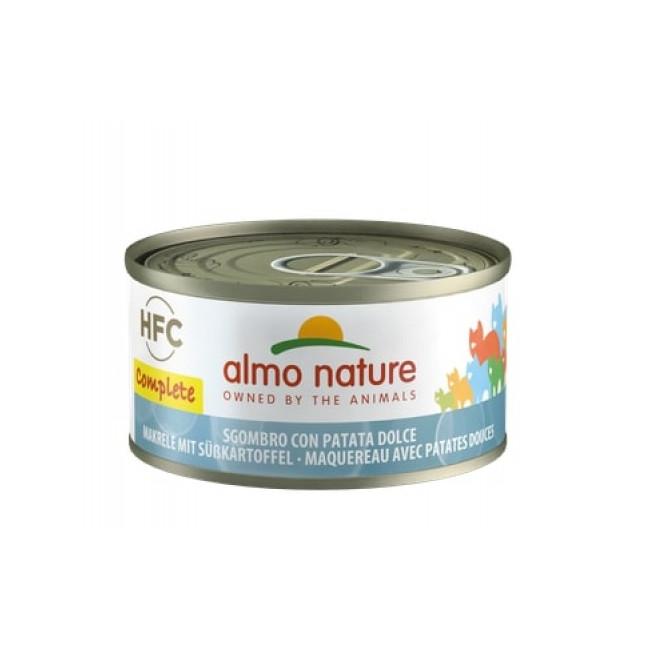 Pâtée sans céréales pour chat Almo Nature HFC Complete Boîte 70 g