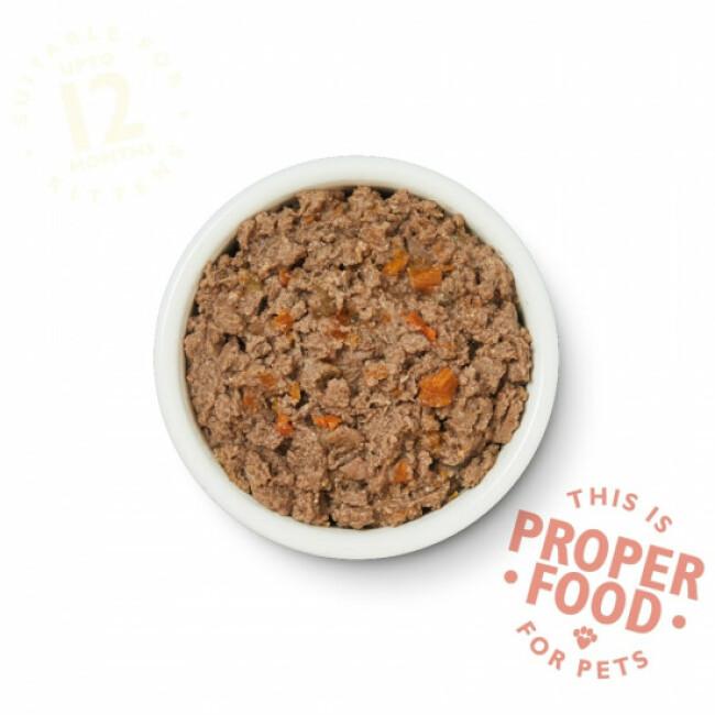 Pâtée sans céréales pour chaton au poulet Lily's Kitchen