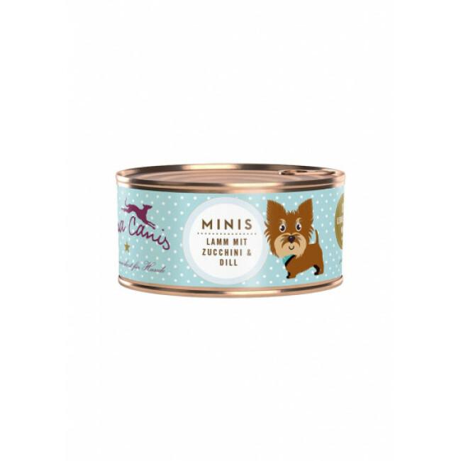 Pâtée sans céréales pour petit chien à l'agneau Terra Canis Mini