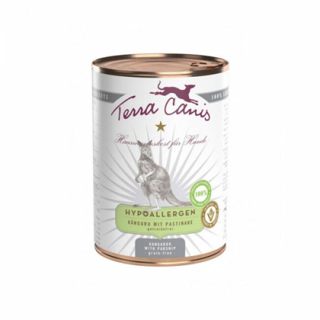 Pâtée sans céréales Terra Canis Hypoallergénique pour chien