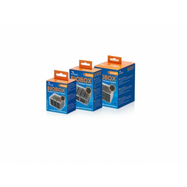 Recharge fibre de charbon Biobox easybox Tecatlantis