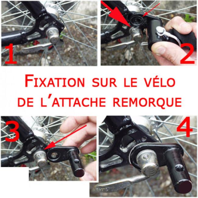 Remorque de vélo pour chien Doggy-Bike ™ Liner