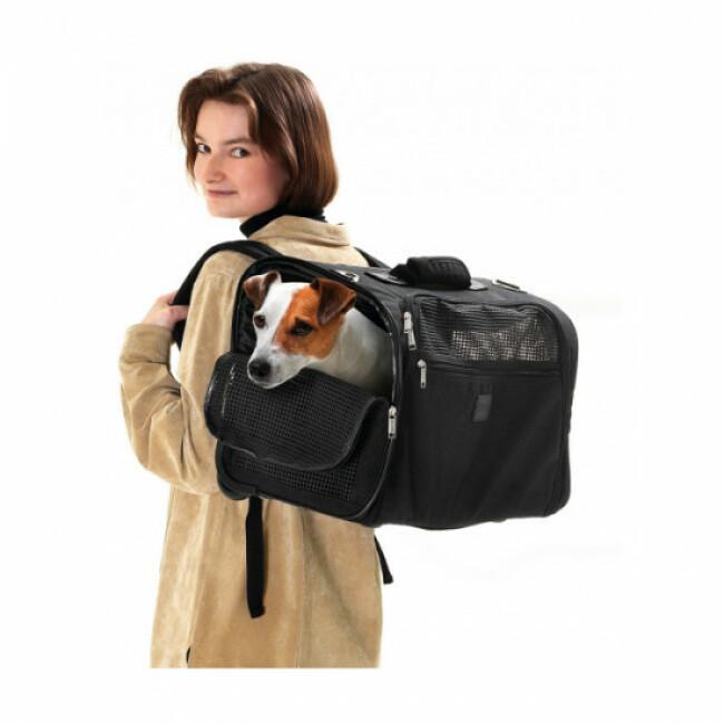 Sac de transport pour chien Smart Flamingo Coloris Noir