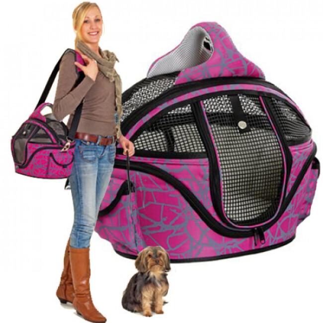 Sac de transport pour petit chien et chat Shopper Deluxe