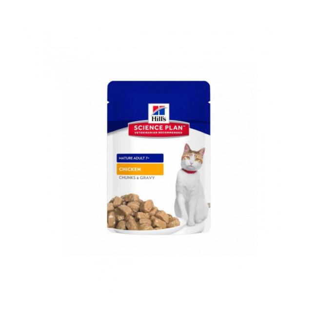 Sachets pour chats Hill's Science Plan Feline Mature