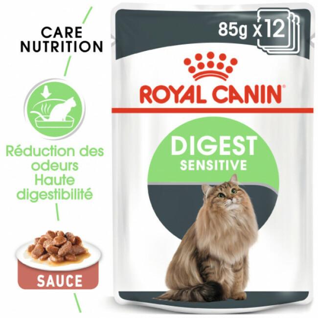Sachets pour chats Royal Canin Digest Sensitive 12 Sachets 85 g