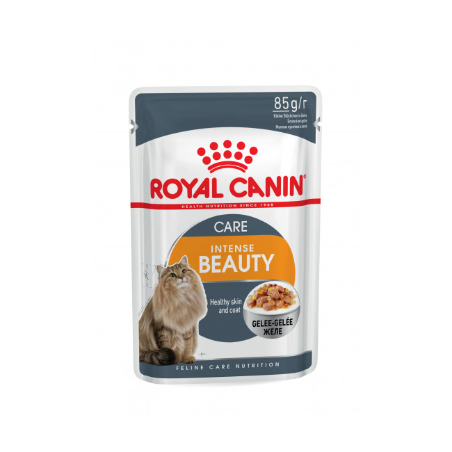 Sachets pour chats Royal Canin Intense Beauty 12 Sachet 85 g