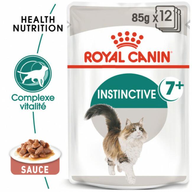 Sachets pour chats senior Royal Canin Instinctive +7 - 12 Sachets de 85 g