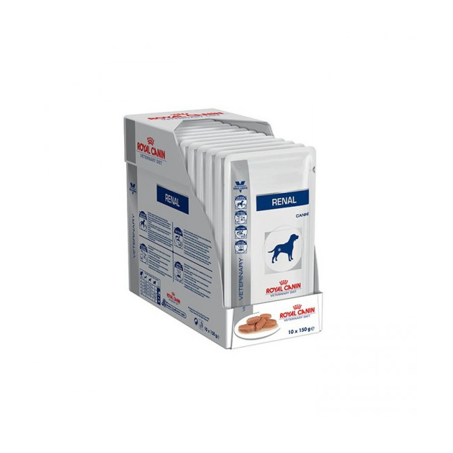 Sachets Royal Canin Veterinary Diet Renal pour chiens 10 sachets 150 g