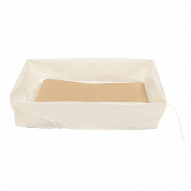Sacs à litière bio-compostables avec fonds cartonnés Bio Sac'Artone - lot de 4