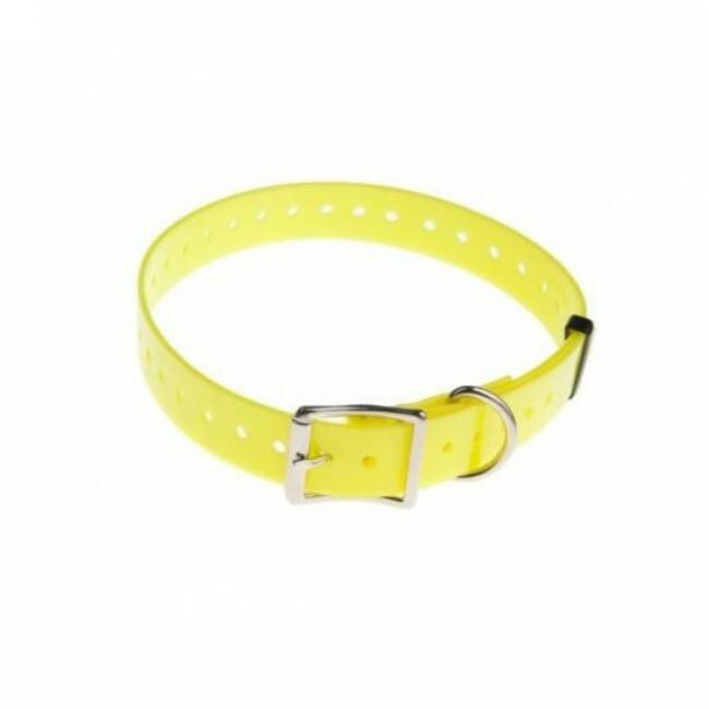 Sangle jaune pour collier de dressage Canicom 65 cm
