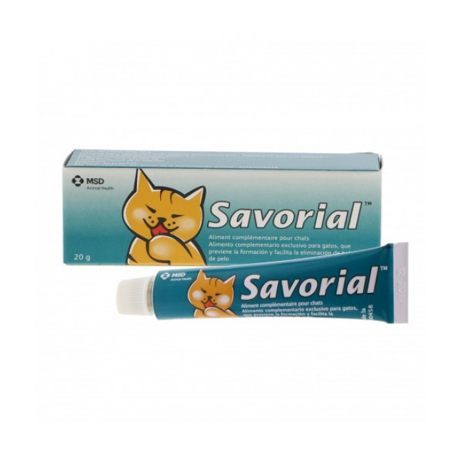 Savorial Compléments alimentaires anti boules de poils pour chats